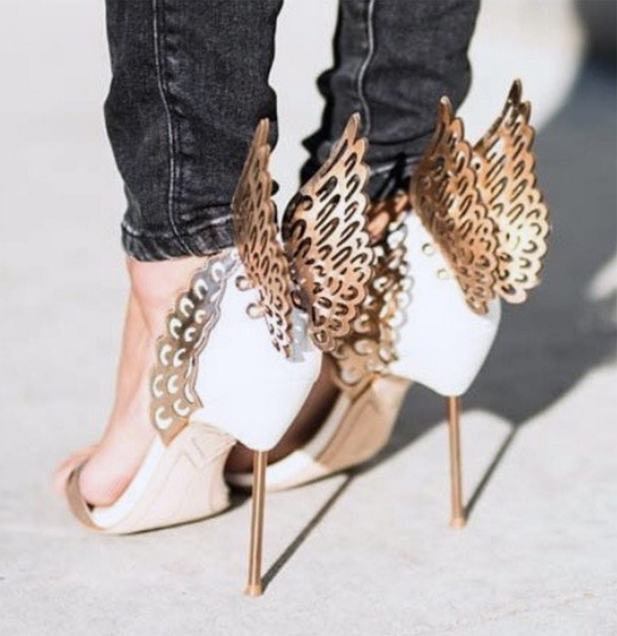 Gloria Gold Wings Sandals (7)