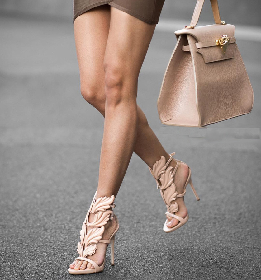 Mercy Nude Leather Sandals (2)