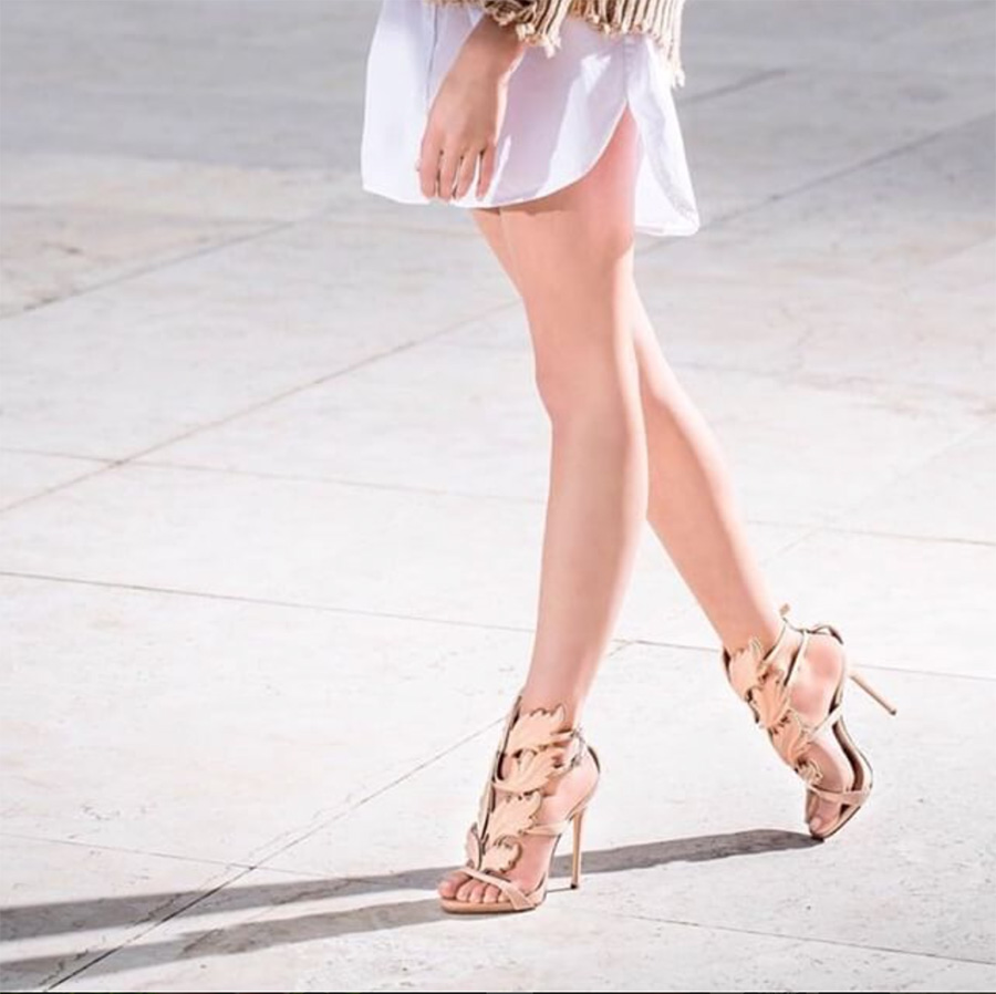 Mercy Nude Leather Sandals (3)