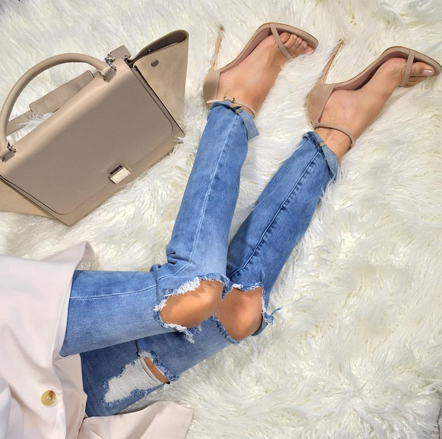 Tracy Nude Leather Sandals (2)