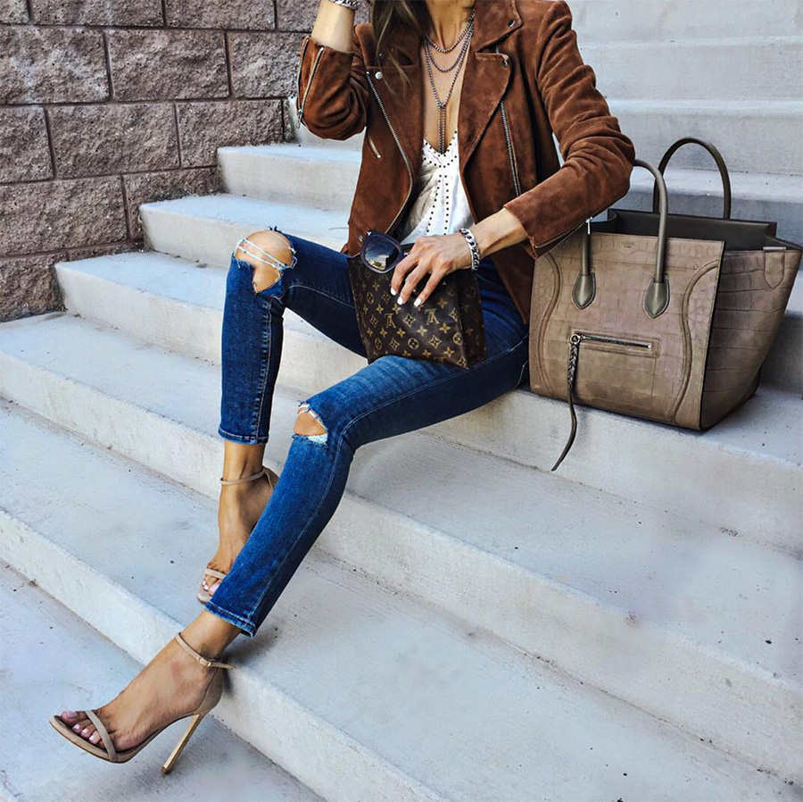 Tracy Nude Leather Sandals (3)