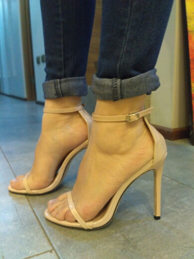 Tracy Nude Leather Sandals (8)