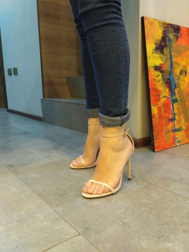 Tracy Nude Leather Sandals (9)